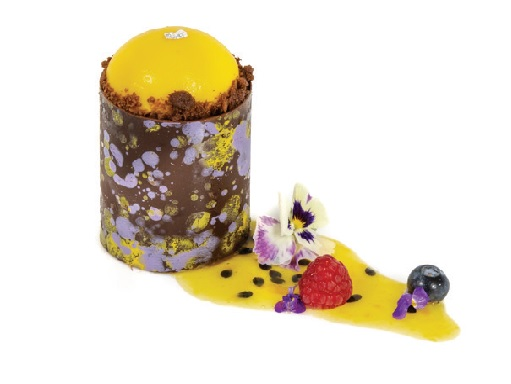 passionfruit choc tower