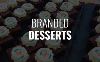 Excite Your Guests with Our Beautiful Branded Desserts